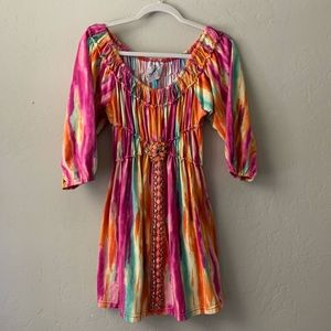 Faith Multicolored Beaded Dress